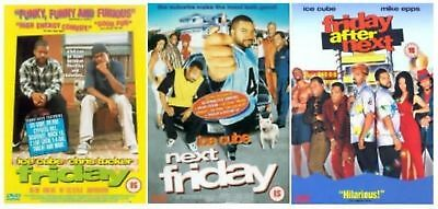 FRIDAY Trilogy Series 1-3 TRIPLE PACK FRIDAY/ NEXT FRIDAY/ FRIDAY AFTER NEXT DVD