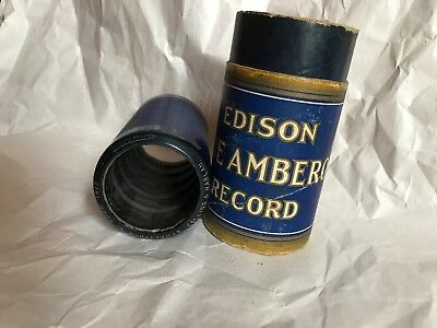 Edison Blue Amberol Cylinder Record #2141 Down In Monkeyville Collins & Harlan