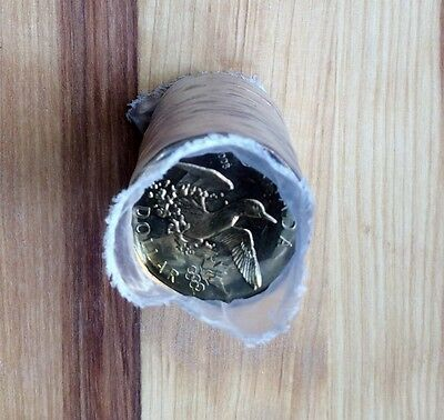 "2008 Canada $1 Dollar  ""Lucky Loonie"" Original Roll - No Tax"