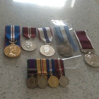 Selection of medals all copy and ready to wear