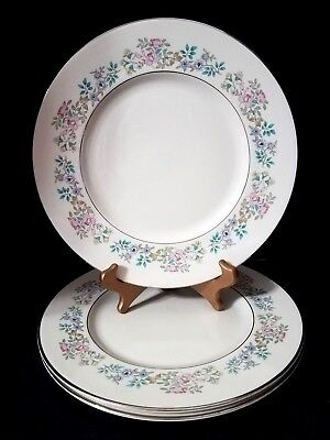 "MINTON ROYAL DOULTON SUMMER SONG (3) 10.75"" Dinner Plates"