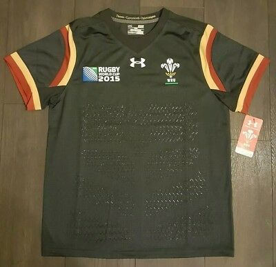 Wales under armour rugby shirt