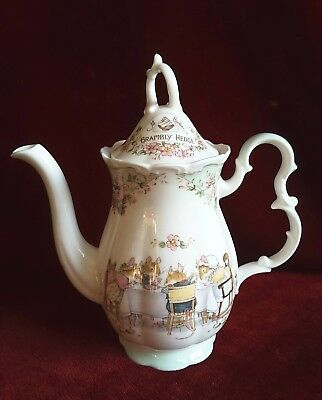 Brambly Hedge Royal Doulton, Kaffeekanne,  Coffeepot, 1. Wahl ! TOP