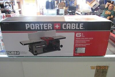 Porter Cable 6 Inch  Variable Speed Bench Jointer Pc160Jt