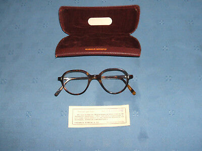 vintage 1940s faux tortoiseshell spectacles / glasses with original case