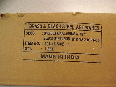 Weathervane Brass & Black Steel Art Wares N S E W Directionals Made in India