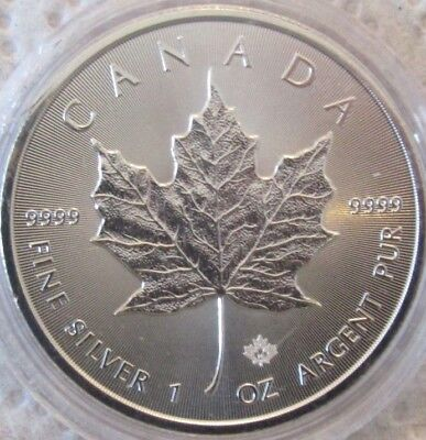 2016 Canadian Maple Leaf 1 oz Silver Bullion Coin