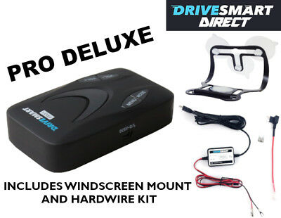 Drivesmart Pro DELUXE GPS Speed Camera Detector FREE Lifetime Database Updates