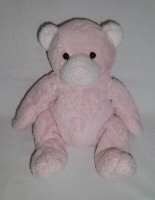 d3de85474a1 2003 Ty Pluffies Plush PUDDER BEAR Teddy PINK Beanie Baby Tylux Stuffed  Animal