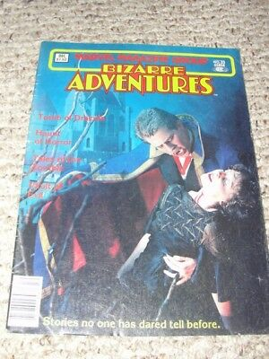 """bizarre Adventures"" Dec 82 #33 Marvel Magazine Group"