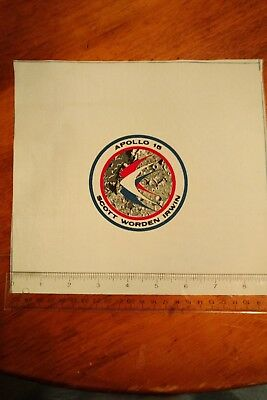 Authentic Nasa Apollo 15 Beta Cloth Crew Patch