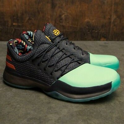 d04ef78f2f2 ADIDAS HARDEN VOL 1 Cactus Mens Basketball Shoes Boost Green BW1573 ...