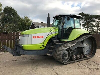 Claas Challenger 55 With Front Linkage