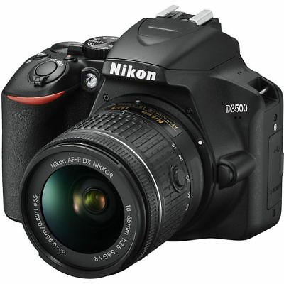 Nikon D3500 Digital SLR Camera w/ AF-P DX 18-55mm VR Lens Kit 1590