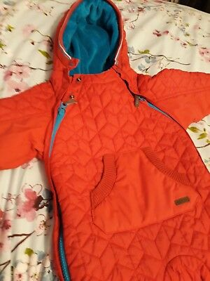 Boys Ted Baker Snowsuit Aged 6-9 Months.