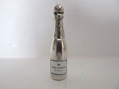 A Rare S. Mordan & Co. Novelty Propelling Pencil Of Champagne Bottle Form. C1880