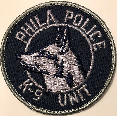 K9 Subdued Philadelphia Department Police Patch