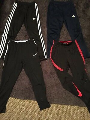 Boys Sports Bundle Adidas Nike Track Suit Bottoms Tops Age 9-10