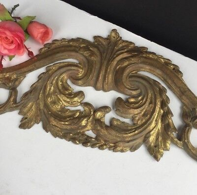 Antique French Bronze Pediment Architectural Salvage Fragment