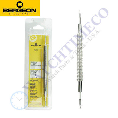 Bergeon 7767-F (6767-F) Knurled Grip Spring Bar Tool for Watch Bands