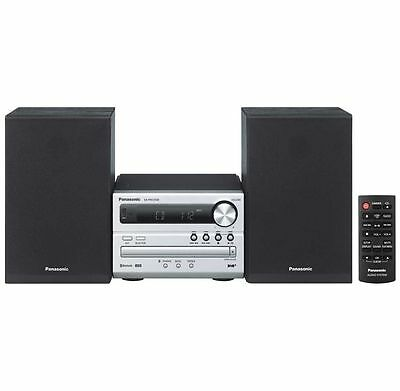 WEEKEND PRICE!! PANASONIC SC-PM250BEBS Wireless Traditional Hi-Fi System Silver