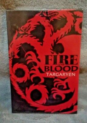 "Game of Thrones House Sigil Canvas Art Targaryen Dragon 6""x9"""