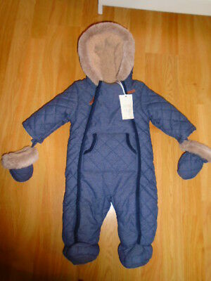 NWT Boots Mini Club Baby Snowsuit Age 6 Months