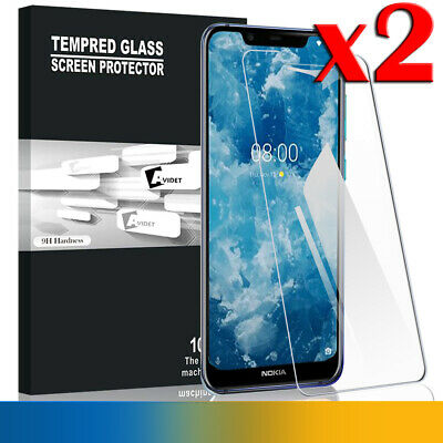 2X Nokia 7.1 Tempered Glass LCD Screen Protector Film Guard Scratch Resistant