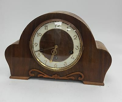 Mantel Clock With whitington & Westminster Chimes SPARES/REPAIRS NO KEY #890