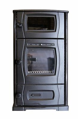 Slow combustion wood heater / stove and pizza oven CLEARANCE SALE