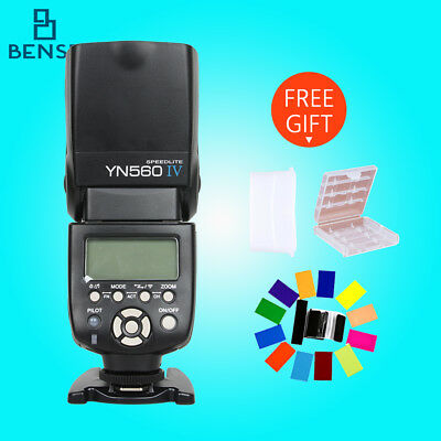 YONGNUO 2.4GHZ YN-560IV Flash Speedlite 560Ⅳ for canon nikon Panasonic pentax