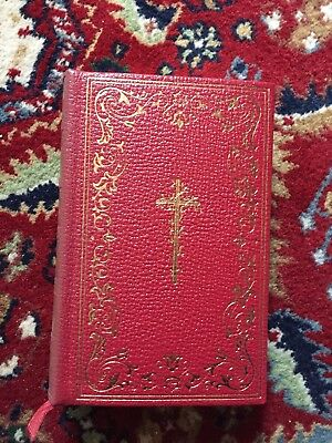 Lives Of The Saints Rev. Hugo Hoever Catholic Book leather gilt Deluxe Edition