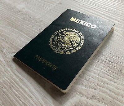 MEXICO collectible 2008 passport travel document US visa (expired/invalid) TOP!!