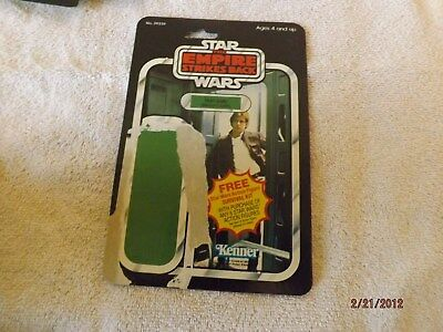 Star Wars  Han Solo ( bespin Outfit )  Action Figure card only!