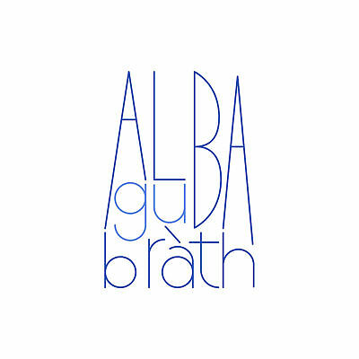 Scotland Alba Gu Brath Large Canvas Wall Art Print