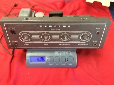 60'S NEWCOMB AMPLIFIER MODEL TR- 16 M Incomplete For Parts Sold As Is
