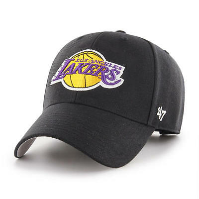 e0ab35c6 47 BRAND LOS Angeles Lakers Adjustable Structured MVP Dad Hat Cap ...