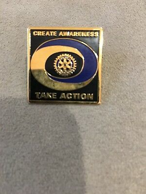 Rotary International Take Action Pin