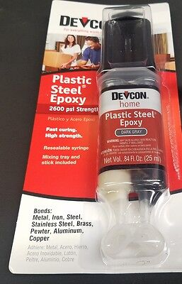 Devcon 62345 Plastic Steel Epoxy Pillar and Bedding Compound