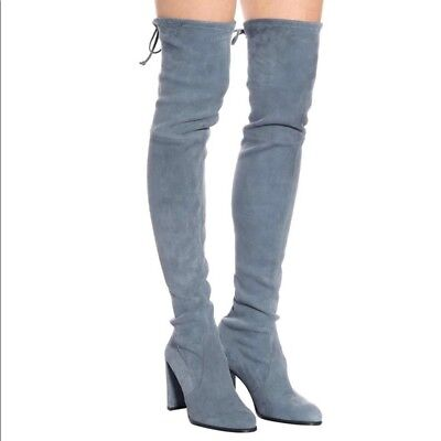 ef1ae4635b9 NIB STUART WEITZMAN Hiline Over The Knee Boots Suede
