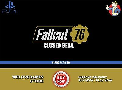 FALLOUT 76 BETA-EARLY Access Codes | PS4,XBOX,PC | Instant Dispatch