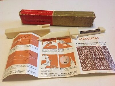 Vintage Kitchen Magician Food Glamorizer in Box with Instructions