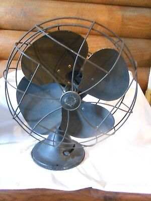 Vintag Emerson Electric 1950's Three Speed Oscillating Fan FREE SHIPPING & INS.
