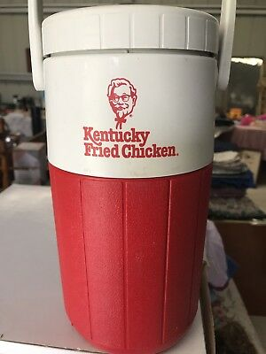 Collectable Vintage Retro Kfc Kentucky Fried Chicken Coleman Drink Cooler