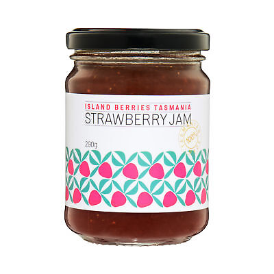 Island Berries Tasmania Strawberry Jam 290g