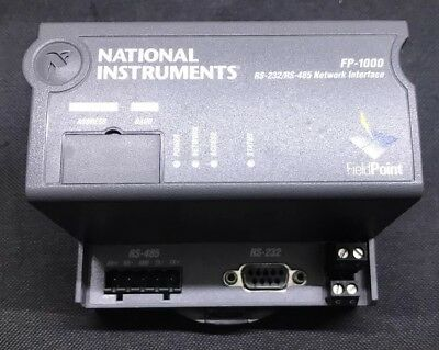 National Instruments FP-1000 Field Point RS-232 / RS-485 Network Interface NI