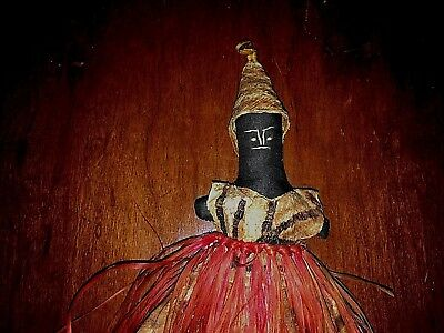 Rare Antique Authentic Hand Made Doll From Africa