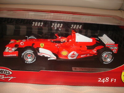 L.E 3000pcs Ferrari 248 F1 Schumacher 7 Time Canadian GP Champion 1:18/OVP