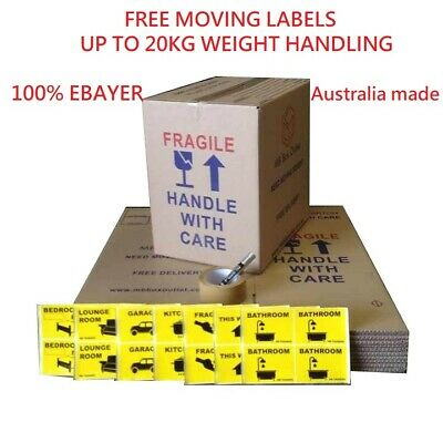 25 X Book N Wine MOVING BOXES + PACKING MATERIALS CARDBOARD REMOVALIST PACKAGE