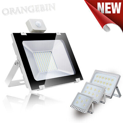 LED Floodlight PIR Sensor 10W 20W 30W 50W 100W 150W 200W 300W 500W Security Lamp